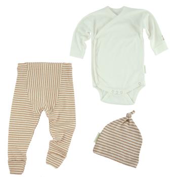 BB-paket babykläder ekologisk bomull minimundus byxor body och mössa