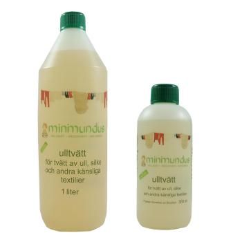 Minimundus ulltvätt med lanolin 300 ml o 1000 ml