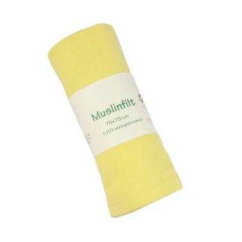 Ekologisk muslinfilt gul 75x75 cm minimundus