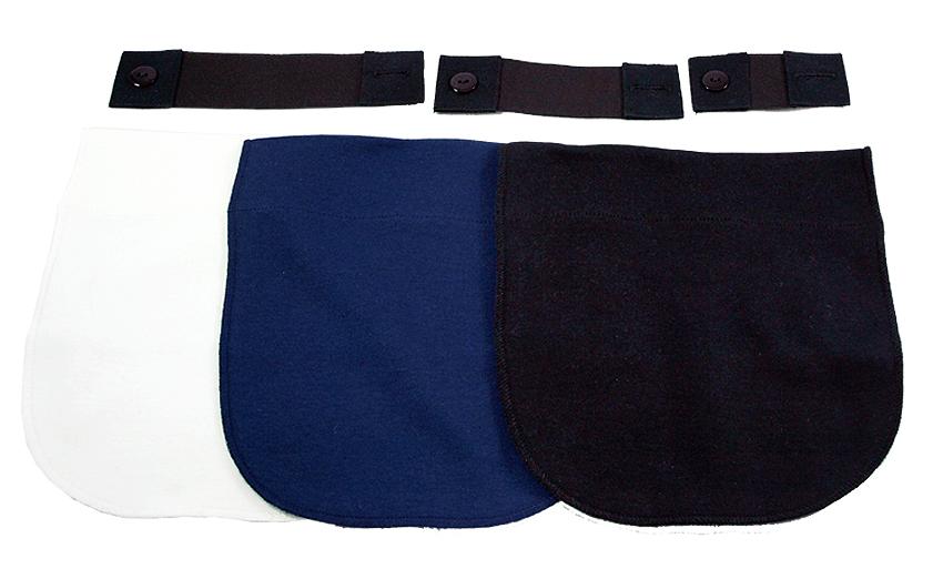 Expanderbelt förlängare vit svart och blå panel Minimundus