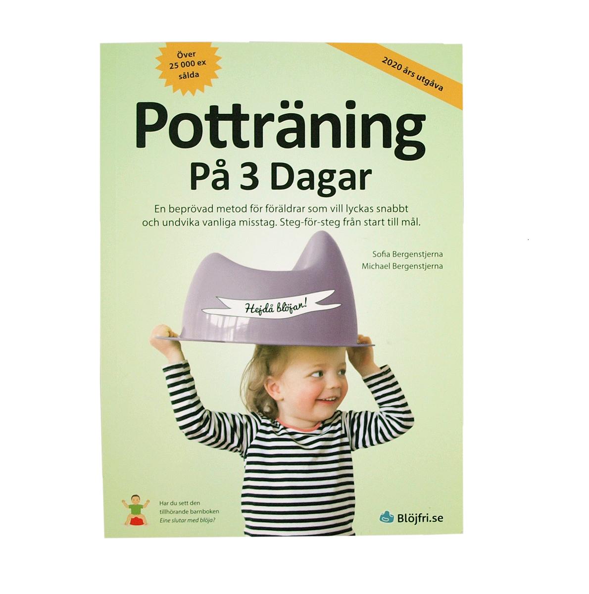 """Bok """"Potträning på 3 dagar"""" Blöjfri Sofia och Michael Bergenstjerna"""