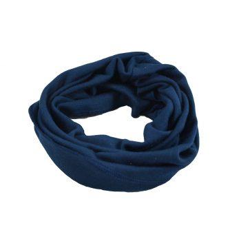Minimundus neckwarmer halsduk marinblå