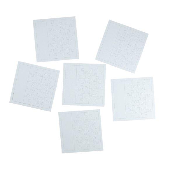 Måla själv pussel av hårdpressad papp