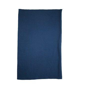 Halsduk neckwarmer marinblå