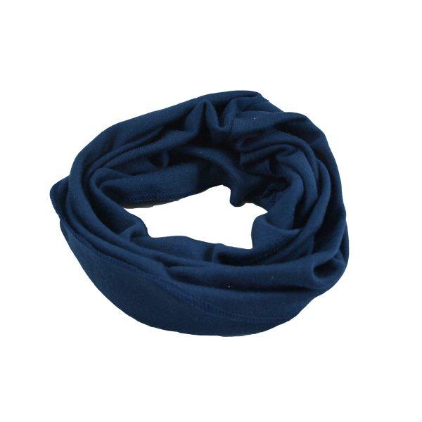 Minimundus halsduk vuxen neckwarmer marinblå
