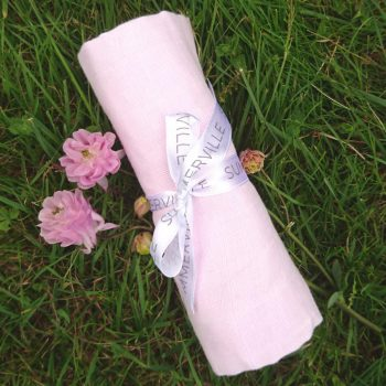 Muslinfilt 70x70 cm 100% ekologisk bomull ljusosa Summerville