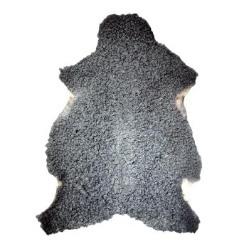 Lammskinnsfäll gotlandsfår vegetabiliskt eko-garvat grått
