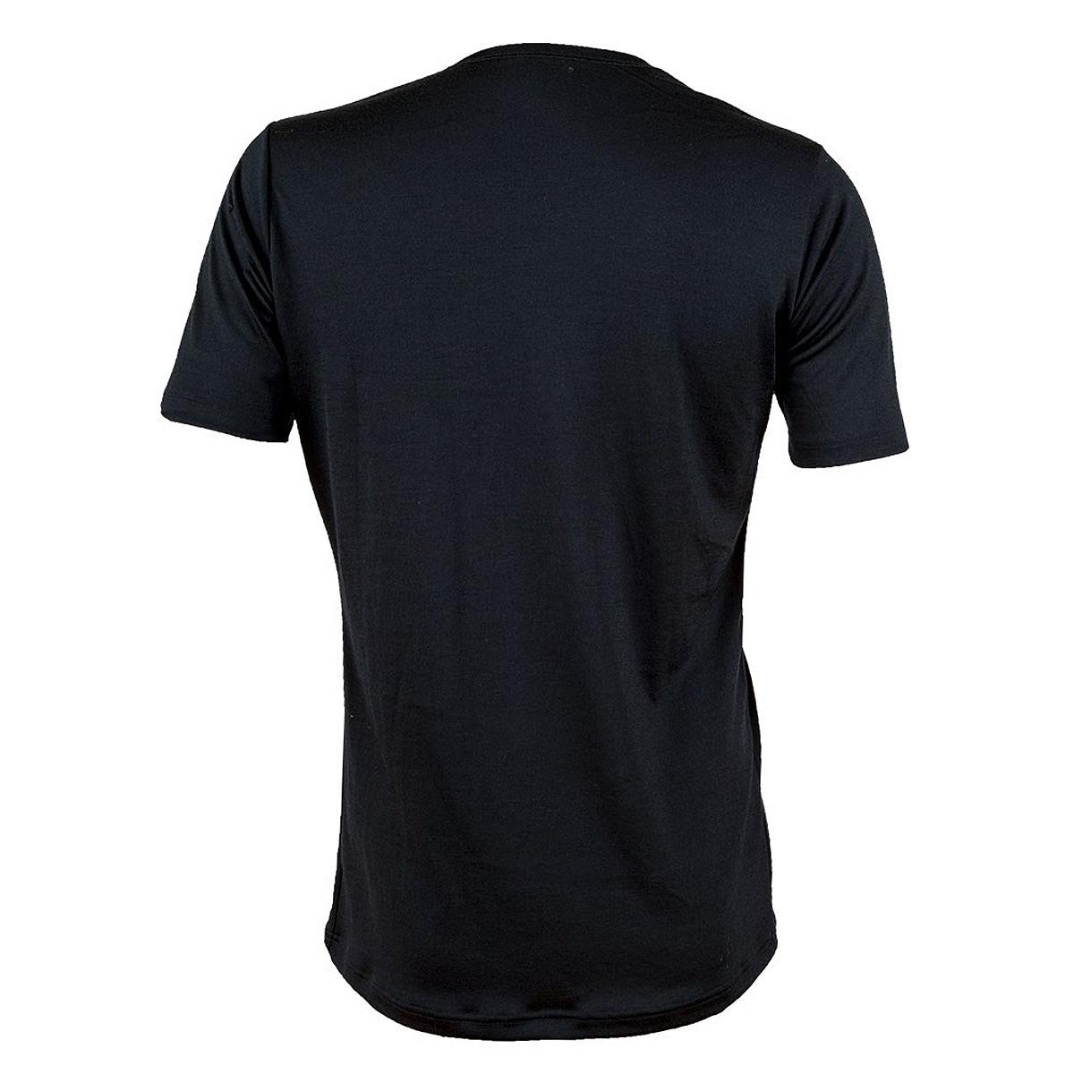 Janus LightWool herr t-shirt 100% merinoull svart