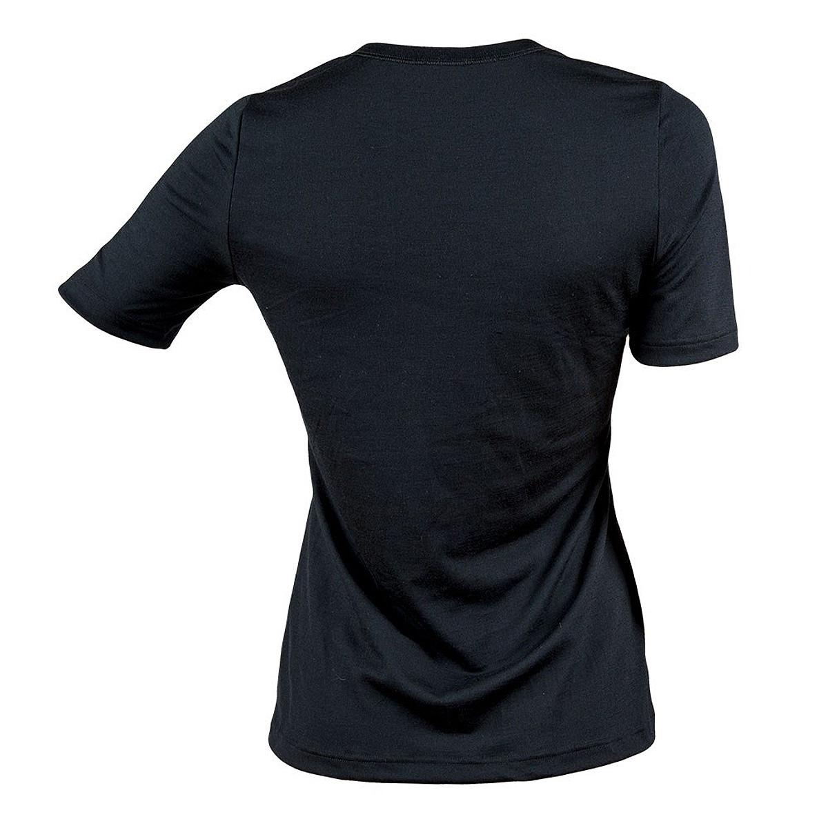 Janus t-shirt LightWool merinoull dam svart