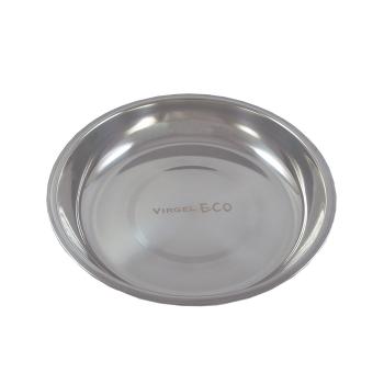 Tallrik rostfritt stål 22 cm i diameter Virgel