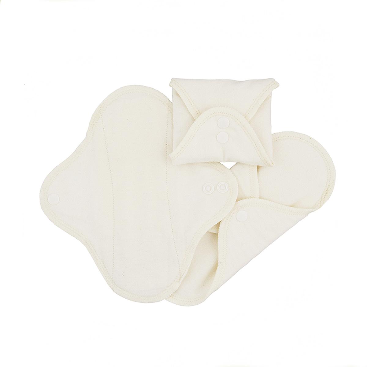 ImseVimse Classic trosskydd ekologisk bomull natural 3-pack