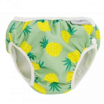 Badblöja Babysimbyxor Pineapple Vimse