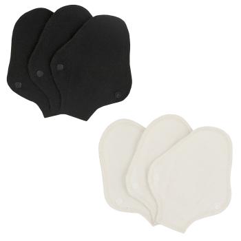 Imse tvätt- och återanvändbara trosskydd String ekologisk bomull 3-pack