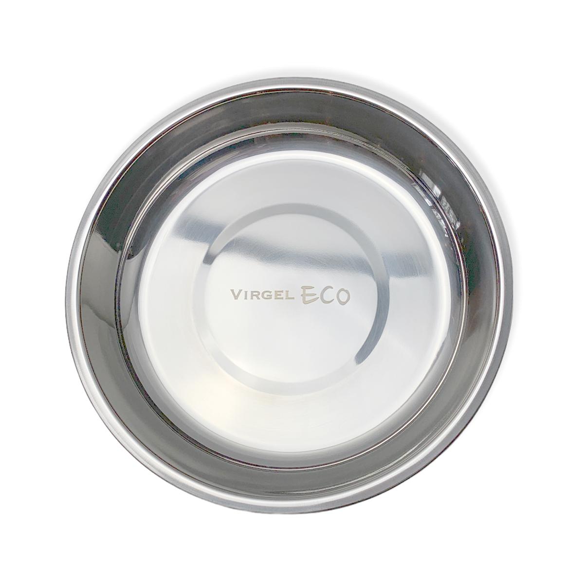 Rund tallrik av rostfritt stål 18/8 18 cm i diameter, Virgel
