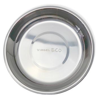 tallrik av rostfritt stål 18/8 ekologkskt, giftfritt och hållbart 22 cm i diameter