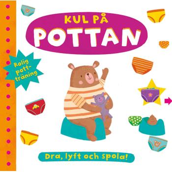 Kul på pottan bok från Tukan Förlag, 0-3 år
