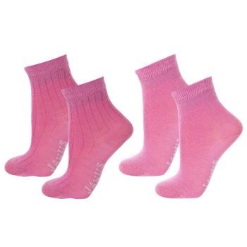 Janus tunna ullstrumpor av merinoull 2-pack rosa