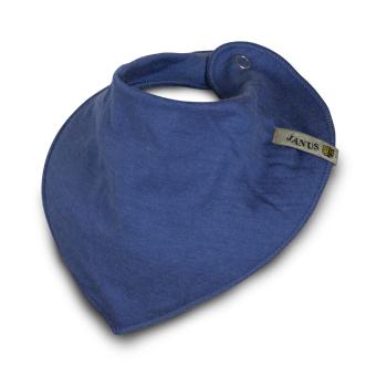 Dregglis, dregelscarf halsduk från Janus babyull LightWool blå