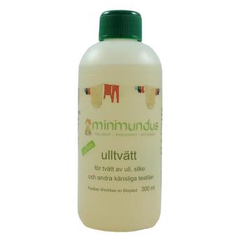 Minimundus ulltvatt med lanolin 300ml för ull silke lammskinn och känsliga textilier