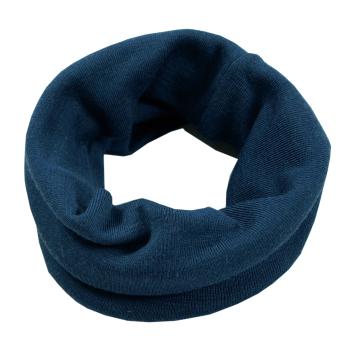Klifri tubhalsduk barn av 100% merinoull Bluesign, blå