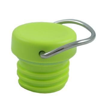 Ögelkork Loop Cap till Klean Kanteen Classic vattenflaska, grön