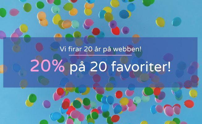 20 år på webben